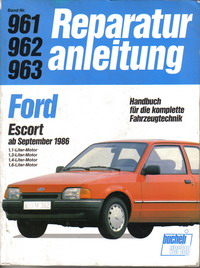 Repair Manuals Ford Escort